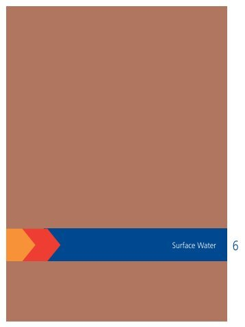 Section 6: Surface Water - BHP Billiton