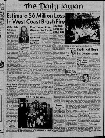 B - The Daily Iowan Historic Newspapers - University of Iowa