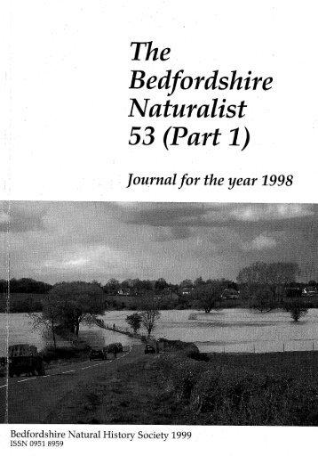 1998 No. 53 Part 1 - Bedfordshire Natural History Society
