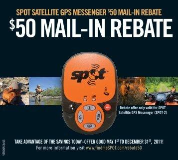 50 mail-in rebate - West Marine