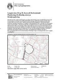 Langåsveien 18 og 20, Korsvoll flerbrukshall Planforslag til offentlig ...