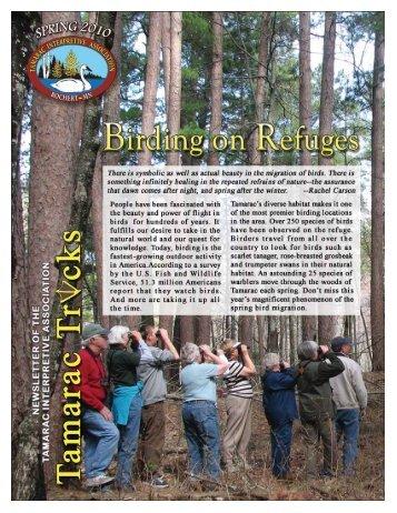 Join TIA - Friends of Tamarac National Wildlife Refuge