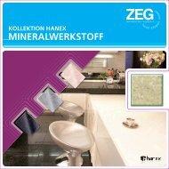 mineralwerkstoff mineralwerkstoff - ZEG Zentraleinkauf Holz und ...
