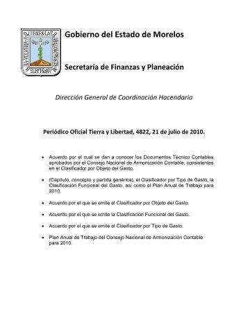 Publicación en el Periódico Oficial Tierra y Libertad - Gobierno del ...