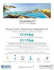 28 Aug - W13 Sun Longhaul - Travel Club Elite