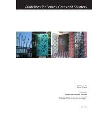 Guidelines for Fences, Gates and Shutters PDF - 297 KB - Victoria