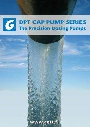 2) DPT CAP Pump Series