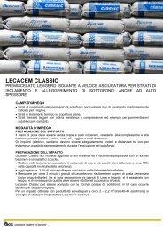 LECACEM CLASSIC - scheda tecnica - Storemat