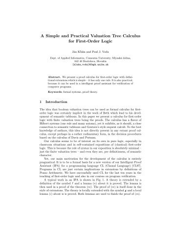 A Simple and Practical Valuation Tree Calculus for First-Order Logic