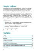 Download 'Your guide to getting great service' - VODG - Page 2