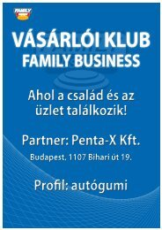 Penta-x árak - Family Business