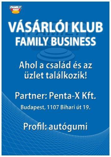 Penta-x árak - Family Business