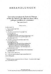 abhandlungen - Zeitschrift für ausländisches öffentliches Recht und ...