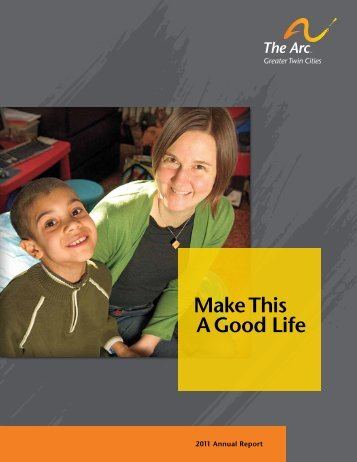 Make This A Good Life Our - Arc Greater Twin Cities