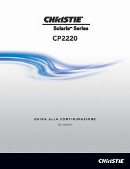CP2220 - Christie Digital Systems