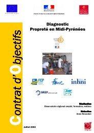 Diagnostic Propreté en Midi-Pyrénées - Carif Oref Midi-Pyrénée