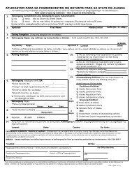 State of Alaska Voter Registration Application - Alaska Elections ...
