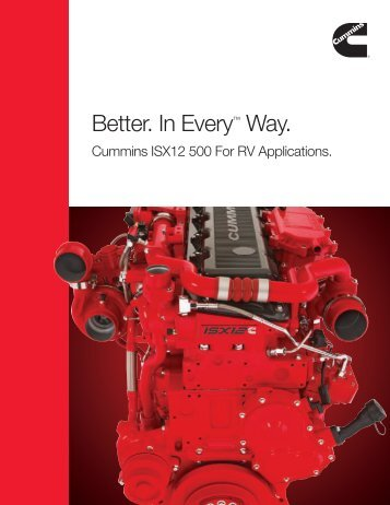 Better. In Every™ Way. - Cummins Engines