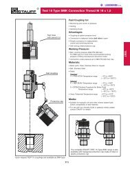 Test 15 Type SMK Connection Thread M 16 x 1,5 Specs - Lehengoak