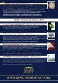5 Königreich-Gottes-Seminare 2011 - Kingdom Impact - Page 2