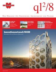 Das Magazin für Ingenieure, Architekten und Planer