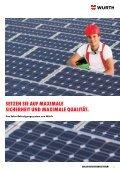 Solar- BefeStigungSSyStem - Würth - Seite 3