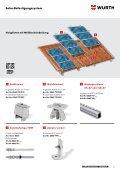 Solar- BefeStigungSSyStem - Würth - Seite 5