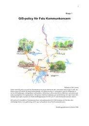 GIS-policy för Falu Kommunkoncern