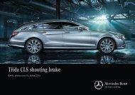 Stáhnout ceník pro třídu CLS Shooting Brake (PDF) - Mercedes-Benz