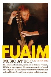 final for web.indd - Music at UCC - University College Cork
