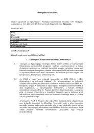 Támogatási Szerződés - ESKI
