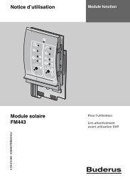 Notice d'utilisation Module solaire FM443
