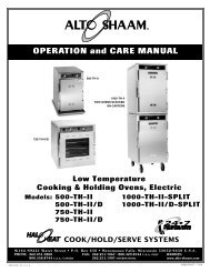 OPERATION and CARE MANUAL
