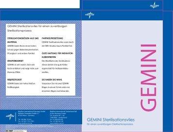 GEMINI Sterilisationsvlies - Medline