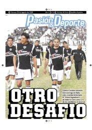 diario 105.indd - Pasión & Deporte
