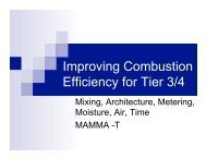 Improving Combustion Efficiency for Tier 3-4 Stoves