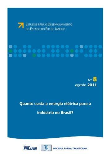 Quanto custa a energia elétrica para a indústria no Brasil ... - UFRJ