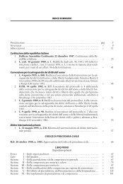 INDICE SOMMARIO Presentazione ... - La Tribuna