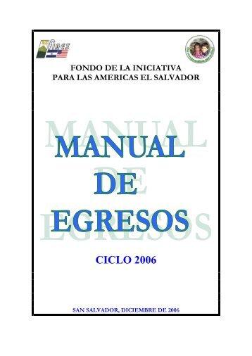 manual de egresos fiaes