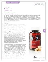 A2Z Chewable - dōTERRA - Essential Oils