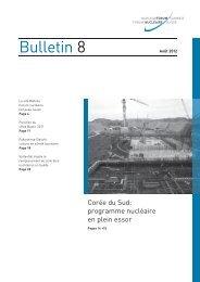 Bulletin 8 - Nuklearforum Schweiz