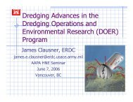 Dredging Advances in the Dredging Operations and Environmental ...