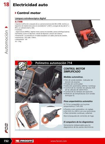 Descargar catálogo en PDF de *ELECTRICIDAD AUTO - Pegamo