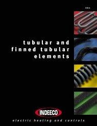 tubular and finned tubular elements - Indeeco