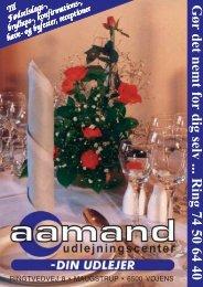 brochure 2001 - Aamand Udlejningscenter