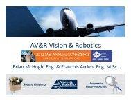 AV&R Vision & Robotics - Society of Manufacturing Engineers