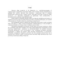 Ekonomska propaganda - Seminarski Maturski Diplomski Radovi
