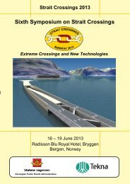 Sixth Symposium on Strait Crossings