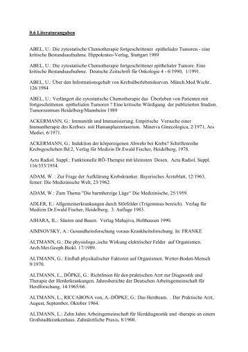 0.6 Literaturangaben - Virtuelles Museum von Dr. med. Karl ...