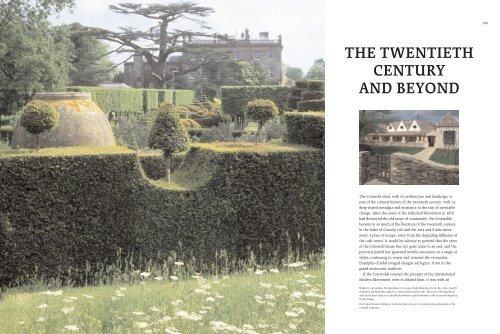 the twentieth century and beyond - Owlpen Manor